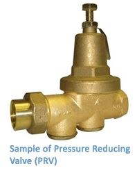 Sample of Pressure Reducing Valve